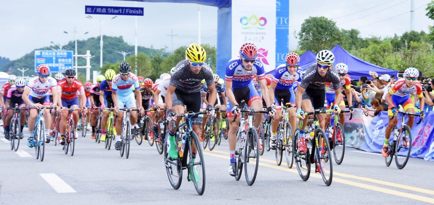 又一重量级赛事 兴义国际自行车赛很劲爆!
