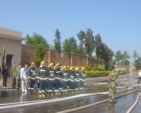黔西南州消防支队联合兴义港华燃气开展灭火演练