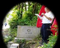 """安龙县兴隆中学开展""""追寻长征路,寻找红军井""""实践活动"""